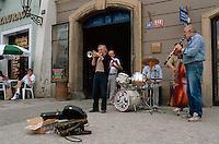 Tschechien, Prag, Dixieland-Band