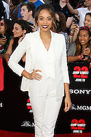 WESTWOOD, LOS ANGELES, CA, USA - JUNE 10: Amber Stevens at the World Premiere Of Columbia Pictures' '22 Jump Street' held at the Regency Village Theatre on June 10, 2014 in Westwood, Los Angeles, California, United States. (Photo by Xavier Collin/Celebrity Monitor)