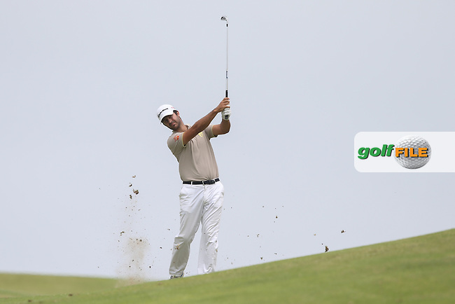 Jorge Campillo (ESP) plays second shot to the last during Round Two of the Africa Open 2015 at the East London Golf Club, East London, Eastern Cape, South Africa. Picture:  David Lloyd / www.golffile.ie. 06/03/2015