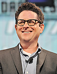 "J.J. Abrams, Aug 13, 2013 : Tokyo, Japan: Director J.J. Abrams attends the press conference for ""Star Trek Into Darkness"" in Tokyo, Japan, on August 13, 2013."