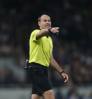 Referee Antonio Mateu Lahoz<br /> <br /> Photographer Rob Newell/CameraSport<br /> <br /> UEFA Champions League - Tottenham Hotspur v Ajax - Tuesday 30th April 2019 - White Hart Lane - London<br />  <br /> World Copyright © 2018 CameraSport. All rights reserved. 43 Linden Ave. Countesthorpe. Leicester. England. LE8 5PG - Tel: +44 (0) 116 277 4147 - admin@camerasport.com - www.camerasport.com