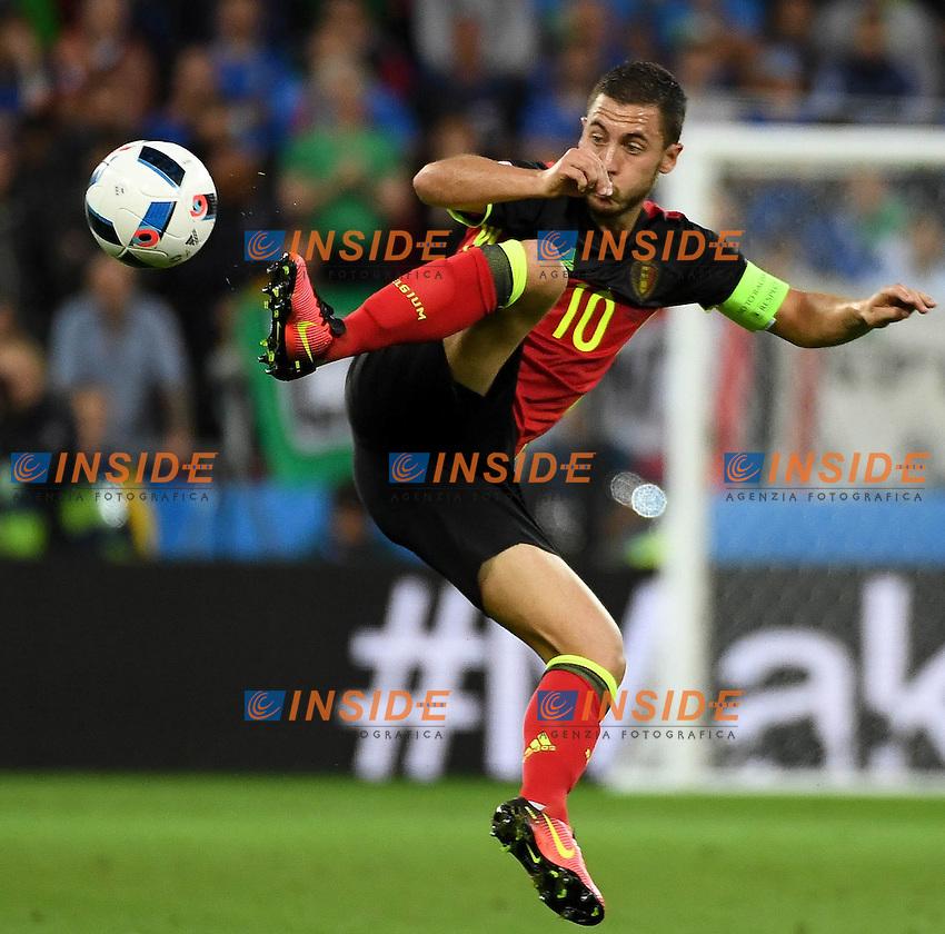 Eden Hazard (BEL) <br /> Lyon 13-06-2016 Stade de Lyon Footballl Euro2016 Belgium - Italy / Belgio - Italia Group Stage Group D. Foto Michael Daniel Christen /EQ Images / Panoramic  / Insidefoto