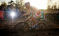 race leader Kevin Pauwels (BEL/Sunweb-Napoleon Games) in the last but 1 lap<br /> <br /> GP Zonhoven 2014