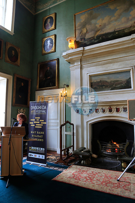 Aoife Ruane at the Launch of the Droichead arts festival in Beaulieu House.<br /> Picture: www.newsfile.ie