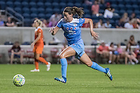 Bridgeview, IL - Saturday July 23, 2016:  Chicago Red Stars midfielder Taylor Comeau (7) during a regular season National Women's Soccer League (NWSL) match between the Chicago Red Stars and the Houston Dash at Toyota Park.