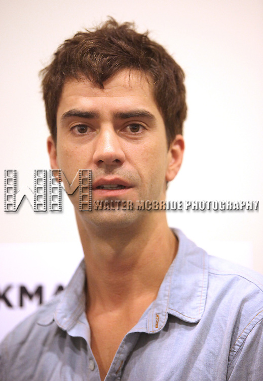 Hamish Linklater.attending the New Broadway Production 'Seminar' Meet & Greet at the Foxwoods Rehearsal Studioa in New York City.