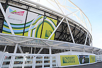 General view of the Queen Elizabeth Olympic Park during Match 28 of the Rugby World Cup 2015 between Ireland and Italy - 04/10/2015 - Queen Elizabeth Olympic Park, London<br /> Mandatory Credit: Rob Munro/Stewart Communications