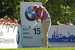 Chris Wood tees off on the 15th hole during Round 3 of the BMW PGA Championship at  Wentworth, Surrey, England, 22nd May 2010...Photo Golffile/Eoin Clarke.(Photo credit should read Eoin Clarke www.golffile.ie)....This Picture has been sent you under the condtions enclosed by:.Newsfile Ltd..The Studio,.Millmount Abbey,.Drogheda,.Co Meath..Ireland..Tel: +353(0)41-9871240.Fax: +353(0)41-9871260.GSM: +353(0)86-2500958.email: pictures@newsfile.ie.www.newsfile.ie.