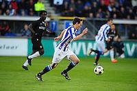 VOETBAL: HEERENVEEN: Abe Lenstra Stadion, SC Heerenveen - Vitesse, 21-01-2012, Eindstand 1-1, Sven Kums (#10), ©foto Martin de Jong