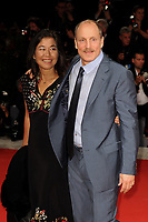 U.S. actor Woody Harrelson, right, poses with his wife Laura Louie on the red carpet for the premiere of the movie 'Three Billboards Outside Ebbing, Missouri' at the 74th Venice Film Festival, Venice Lido, September 4, 2017. <br /> UPDATE IMAGES PRESS/Marilla Sicilia<br /> <br /> *** ONLY FRANCE AND GERMANY SALES ***