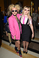 Jaime Winstone and sister Ellie Rae Winstone<br /> at the Pam Hogg catwalk show as part of London Fashion Week SS17, Freemason's Hall, Covent Garden, London<br /> <br /> <br /> &copy;Ash Knotek  D3155  16/09/2016