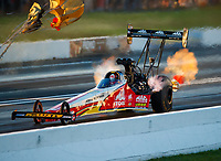 Jun 9, 2017; Englishtown , NJ, USA; NHRA top fuel driver Doug Kalitta during qualifying for the Summernationals at Old Bridge Township Raceway Park. Mandatory Credit: Mark J. Rebilas-USA TODAY Sports