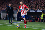 Atletico de Madrid Yannick Carrasco during La Liga match between Atletico de Madrid and Real Madrid at Wanda Metropolitano in Madrid, Spain. November 18, 2017. (ALTERPHOTOS/Borja B.Hojas)