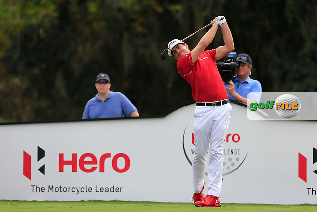 Keegan Bradley (USA) during round 4 of the Hero World Challenge, Isleworth Golf &amp; Country Club, Windermere, Orlando Florida, USA. 07/12/2014<br /> Picture Fran Caffrey, www.golffile.ie