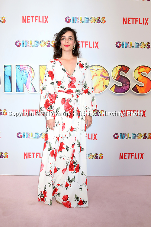 "LOS ANGELES - APR 17:  Irene White at the ""Girlboss"" Premiere Screening at ArcLight Theater on April 17, 2017 in Los Angeles, CA"