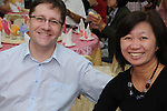 Taiwanese Wedding -- Wedding guests at the banquet.