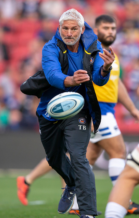 Bath Rugby's Head Coach Todd Blackadder<br /> <br /> Photographer Bob Bradford/CameraSport<br /> <br /> Gallagher Premiership - Bristol Bears v Bath Rugby - Friday August 31st 2018 - Ashton Gate - Bristol<br /> <br /> World Copyright © 2018 CameraSport. All rights reserved. 43 Linden Ave. Countesthorpe. Leicester. England. LE8 5PG - Tel: +44 (0) 116 277 4147 - admin@camerasport.com - www.camerasport.com