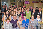 Tara O'Shea Killorglin seated center who celebrated her 21st birthday with her family and friends in Bunkers bar Killorglin on Saturday night..