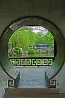 "The Humble Administrator's Garden or Zhouzheng Yuan is considered to be the finest garden in all of southern China.  In 1997, along with other classical gardens of Suzhou was proclaimed a UNESCO World Heritage Site. .The garden's site was initially the residence and garden of Lu Guimeng, a Tang Dynasty scholar. Later it became monastery garden for the Dahong Temple. In 1513 CE, Wang Xiancheng an Imperial Envoy and poet of the Ming Dynasty appropriated the temple. In 1510, he retired to his native home of Suzhou after long service in the East Imperial Secret Service, and began work on the garden. This garden was designed in collaboration with the renowned artist Wen Zhengming.  The garden was named after a verse by Pan Yue's Idler's Prose, ""I enjoy a carefree life by planting trees and building my own house...I irrigate my garden and grow vegetables for me to eat...such a life suits a retired official like me well."" This verse symbolized Wang's desire to retire from politics and adopt a hermits life."