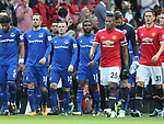 Wayne Rooney of Everton walks out during the premier league match at the Old Trafford Stadium, Manchester. Picture date 17th September 2017. Picture credit should read: Simon Bellis/Sportimage