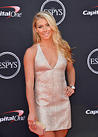 Mikaela Shiffrin at the 2018 ESPY Awards at the Microsoft Theatre LA Live, Los Angeles, USA 18 July 2018<br /> Picture: Paul Smith/Featureflash/SilverHub 0208 004 5359 sales@silverhubmedia.com
