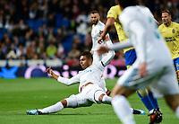 Real Madrid's Casemiro and UD Las Palmas'  during La Liga match. November 5,2017. (ALTERPHOTOS/Inma Garcia)