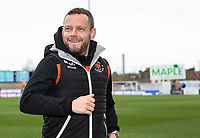 Blackpool's Jay Spearing inspecting the pitch before the match<br /> <br /> Photographer Andrew Kearns/CameraSport<br /> <br /> The EFL Sky Bet League Two - Bristol Rovers v Blackpool - Saturday 2nd March 2019 - Memorial Stadium - Bristol<br /> <br /> World Copyright © 2019 CameraSport. All rights reserved. 43 Linden Ave. Countesthorpe. Leicester. England. LE8 5PG - Tel: +44 (0) 116 277 4147 - admin@camerasport.com - www.camerasport.com