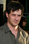 "HOLLYWOOD, CA. - August 05: Tom Everett Scott arrives at the premiere of ""A Perfect Getaway"" at the Cinerama Dome on August 5, 2009 in Hollywood, California."