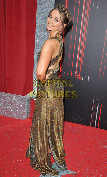 Daisy Wood-Davis at the British Soap Awards 2018, Hackney Town Hall, Mare Street, London, England, UK, on Saturday 02 June 2018.<br /> CAP/CAN<br /> &copy;CAN/Capital Pictures