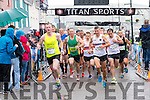 The start of the Dingle Marathon on Saturday morning.