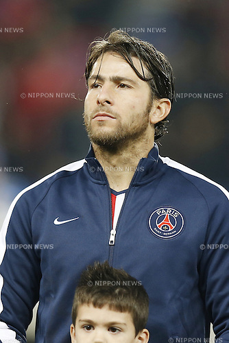 Maxwell (PSG), NOVEMBER 25, 2014 - Football / Soccer : UEFA Champions League Group F match between Paris Saint-Germain 3-1 AFC Ajax at the Parc des Princes Stadium in Paris, France. (Photo by Mutsu Kawamori/AFLO) [3604]