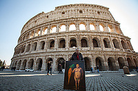 The Colosseum.<br />