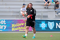 Cary, North Carolina  - Sunday May 21, 2017: Jordi King prior to a regular season National Women's Soccer League (NWSL) match between the North Carolina Courage and the Chicago Red Stars at Sahlen's Stadium at WakeMed Soccer Park. Chicago won the game 3-1.