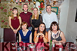 Enjoying the night out in Cassidy&rsquo;s on Saturday night.<br /> Seated l-r, Geraldine O&rsquo;Sullivan, Sandra King and Josie Reen.<br /> Back l-r, Nicola O&rsquo;Dowd, Anthony and Aoife Brosnan and Damien Kelly.