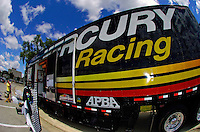 Mercury Racing trailer.