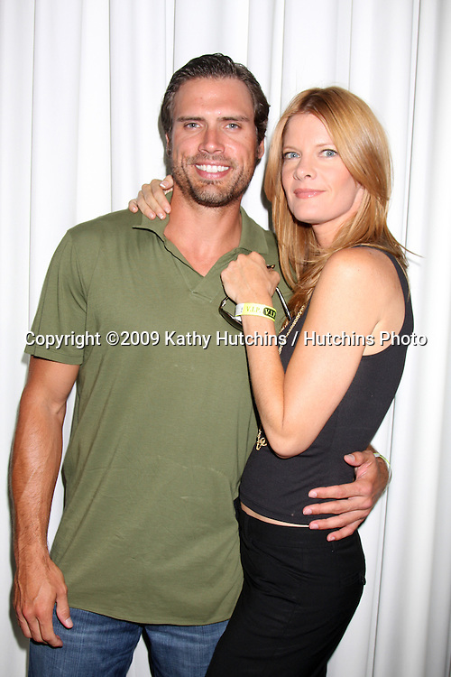 Joshua Morrow and Michelle Stafford  at The Young & the Restless Fan Club Dinner  at the Sheraton Universal Hotel in  Los Angeles, CA on August 28, 2009.©2009 Kathy Hutchins / Hutchins Photo.