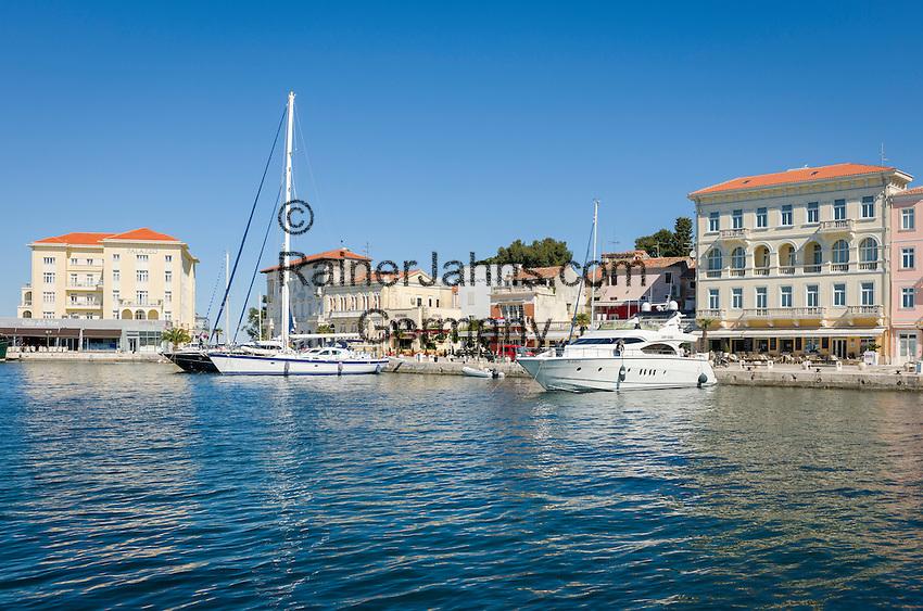 Croatia, Istria, Porec: harbour | Kroatien, Istrien, Porec: Hafen