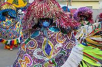 OLINDA, PE, 08.02.2016 - CARNAVAL-PE - Caboclos de lana se apresentam no encontro de Maracatu na Casa da Rabeca, em Olinda (PE), durante esta segunda-feira (08). (Foto: Diego Herculano / Brazil Photo Press)