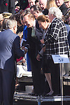 01.10.2012. The Spanish Royal Family, King Juan Carlos, Queen Sofia, Prince Felipe, Princess Letizia and Princess Elena attend the imposition of collective Distinguished Cross San Fernando Al Banner Armored Cavalry Regiment ´Alcántara´ No. 10 in the Royal Palace in Madrid, Spain. In the image Dukes of Calabria, Carlos de Borbon Dos Sicilias and Ana of Orleans (Dukes of Calabria), Princess Margarita de Borbon and Carlos Zurita (Dukes of Soria) and  Princess Pilar de Borbon (Duchess of Badajoz).  (Alterphotos/Marta Gonzalez)