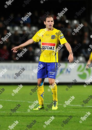 2013-11-02 / Voetbal / seizoen 2013-2014 / KVC Westerlo - KSK Heist / Maxime Annys<br /><br />Foto: Mpics.be