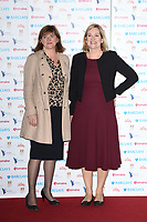 Nicky Morgan and Amber Rudd<br /> arriving for the Women of the Year Awards 2018 and the Hotel Intercontinental London<br /> <br /> ©Ash Knotek  D3443  15/10/2018