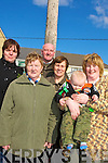 FAMILY: family day at the St patrick's Day Parade in Ballyheigue on Monday. Brenda O'Connor(Ardfert),Mary,Sean and Cara Flahive, Kathleen and Liam O'Sullivan (Ballyheigue). ....   Copyright Kerry's Eye 2008