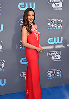 Olivia Munn at the 23rd Annual Critics' Choice Awards at Barker Hangar, Santa Monica, USA 11 Jan. 2018<br /> Picture: Paul Smith/Featureflash/SilverHub 0208 004 5359 sales@silverhubmedia.com