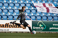 Dean Gerken of Colchester United in action during Colchester United vs Northampton Town, Sky Bet EFL League 2 Football at the JobServe Community Stadium on 24th August 2019