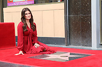 LOS ANGELES - OCT 19:  Idina Menzel at the Idina Menzel and Kristen Bell Star Ceremony on the Hollywood Walk of Fame on October 19, 2019 in Los Angeles, CA