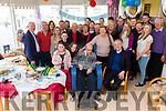 Con Lyne from Meeliguleen, Ballinskelligs seated front centre celebrated his 100th Birthday in St Anne's Hospital, Cahersiveen on Monday with family and friends.