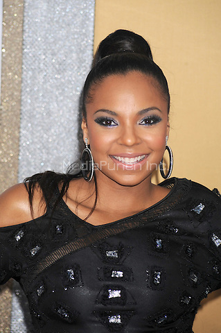 Ashanti at the film premiere of 'Sex and the City 2' at Radio City Music Hall in New York City. May 24, 2010.Credit: Dennis Van Tine/MediaPunch