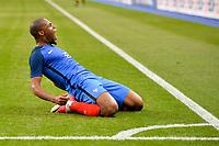 19 Djibril Sidibe (fra) - Esultanza Gol <br /> Parigi 13-06-2017 <br /> Francia Inghilterra - France Vs England <br /> Amichevole / Friendly Match  <br /> Foto Panoramic/insidefoto