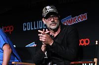 NEW YORK, NY - OCTOBER 7: Jeffrey Dean Morgan at AMC's The Walking Dead panel at New York Comic Con on October 7, 2017 in New York City.    <br /> CAP/MPI/DC<br /> &copy;DC/MPI/Capital Pictures