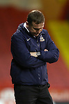 Phil Parkinson, manager of Bradford looks glum - Sheffield United vs Bradford City - Skybet League One - Bramall Lane - Sheffield - 28/12/2015 Pic Philip Oldham/SportImage